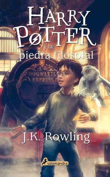 "Harry Potter y la piedra filosofal ""(Harry Potter - I)""."