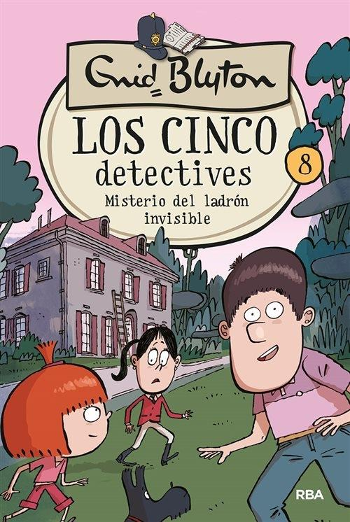 "Misterio del ladrón invisible ""(Los cinco detectives - 8)"""