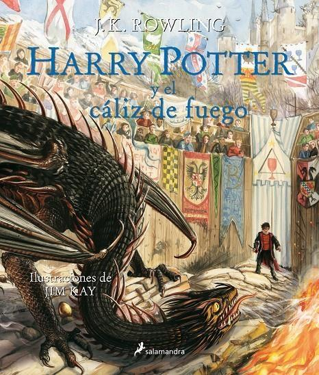 "Harry Potter y el cáliz de fuego ""(Harry Potter - 4) (Edición ilustrada)"""