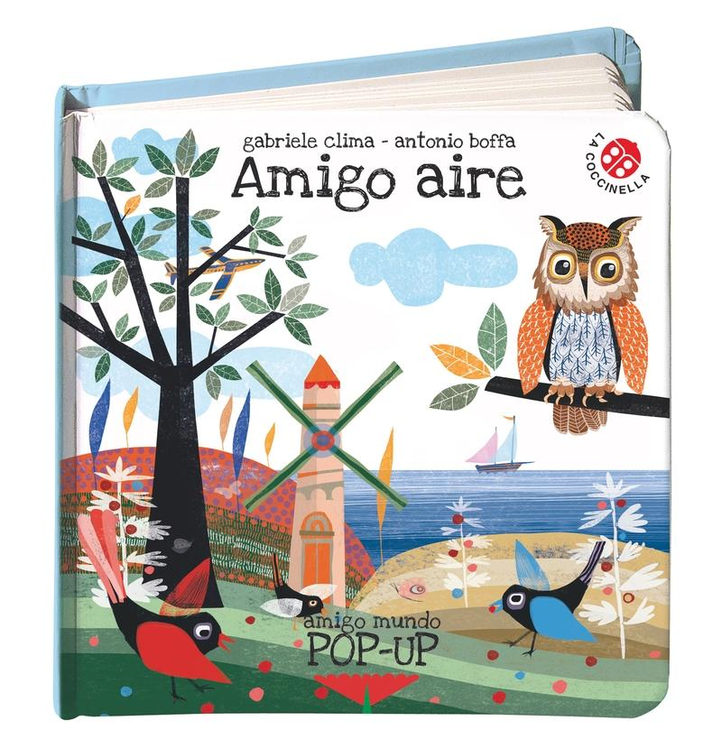 "Amigo aire ""(Incluye 4 Pop-Up)"""
