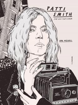 "Patti Smith ""She has the power"""