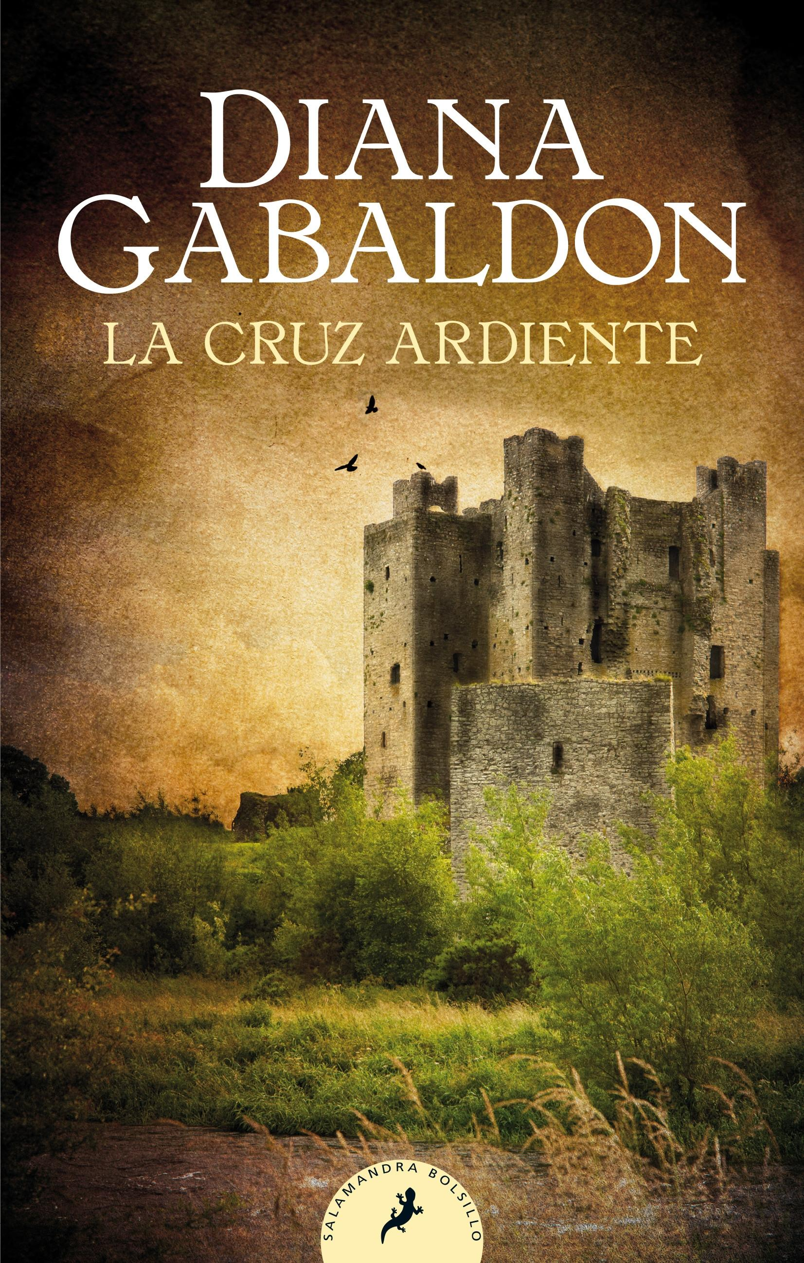 "La cruz ardiente ""(Saga Outlander - 5)"""